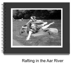 Rafting in the Aar River ESC Paris 2011
